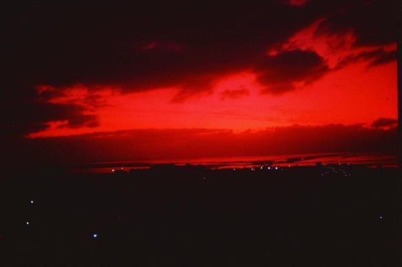 cielo rosso