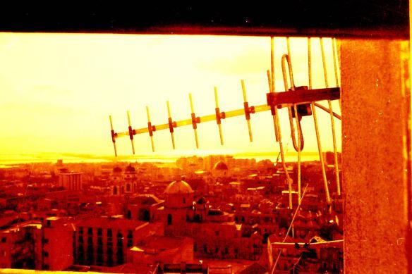 antenna e luce - foto maurizio manzo - 1979