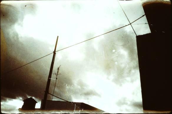 fili e pali - foto maurizio manzo - 1989 -